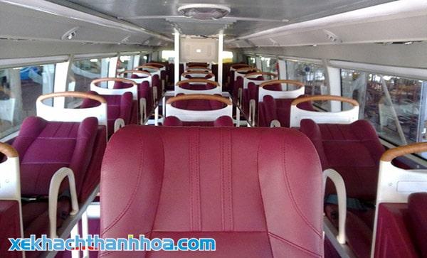 Nội thất xe gường nằm Hải Hiền Thanh Hóa