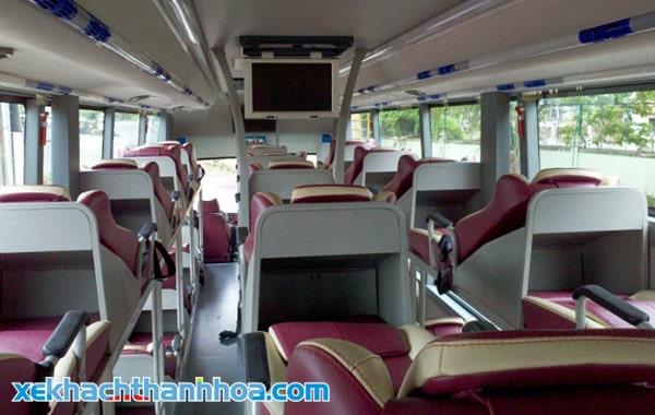 Ghế giường nằm xe Duy Khánh