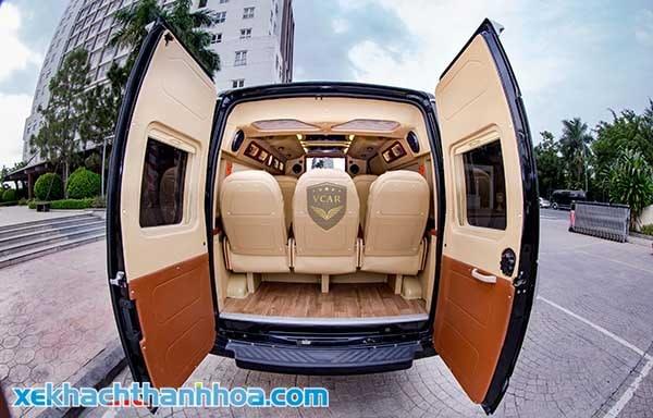 Thiết kế xe giường nằm cao cấp
