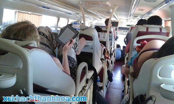 Ghế giường nằm cao cấp tuyến Sầm Sơn