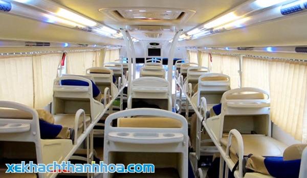 Hơn 40 ghế giường nằm phục vụ quý khách