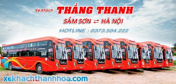 Xe giường nằm cao cấp tuyến Hà Nội Sầm Sơn